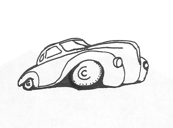 Car Sketches For T Shirts