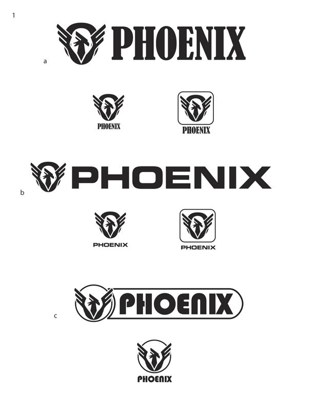 Phoenix Motorcycle Logo 01