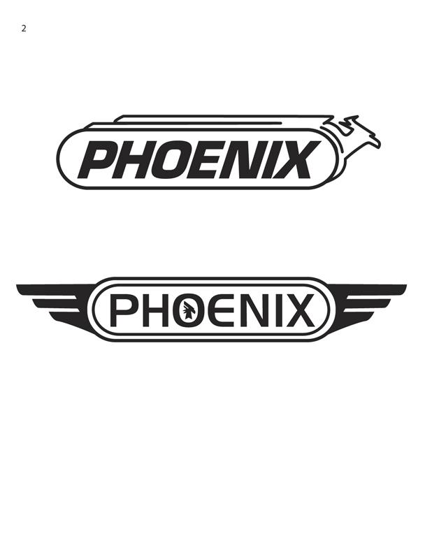 Phoenix Motorcycle Logo 02