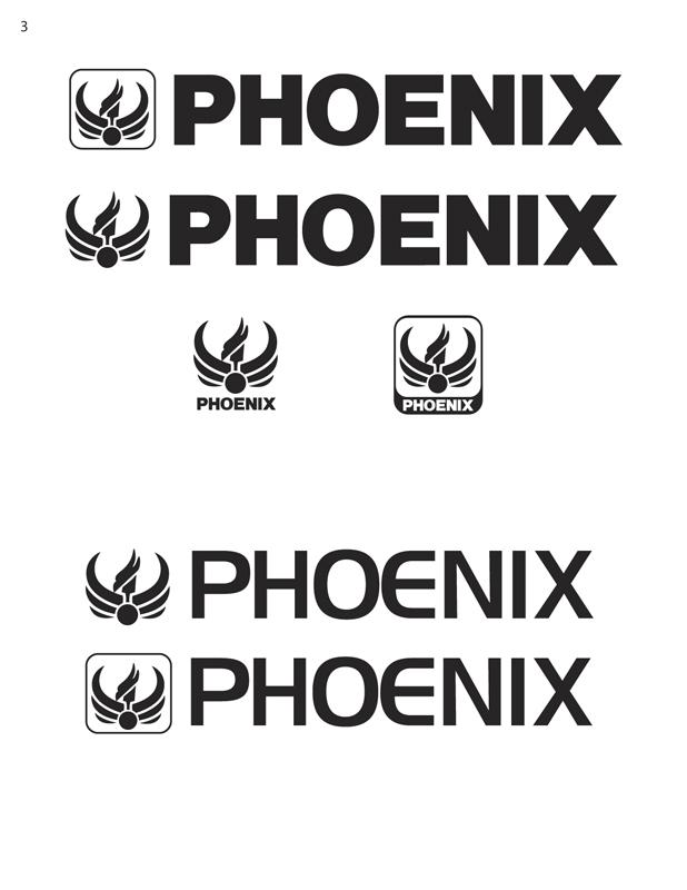 Phoenix Motorcycle Logo 03