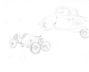 car doodlin